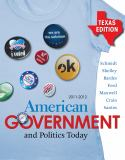 American Government and Politics Today 2011-2012 15th Edition