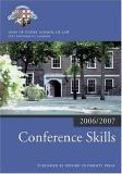 Conference Skills 2006-07 9780199289493