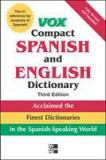 Compact Spanish and English Dictionary 3rd Edition