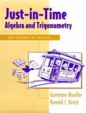 Just-in-Time Algebra and Trigonometry 9780201419511