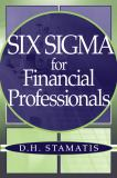 Six Sigma for Financial Professionals 9780471459514