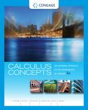 Calculus Concepts 9781439049570