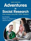 Adventures in Social Research 9th Edition