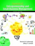 Essentials of Entrepreneurship and Small Business Management 9780133849622