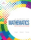 A Survey of Mathematics with Applications 9780321759665
