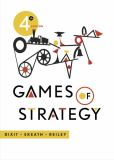 Games of Strategy 4th Edition