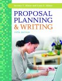 Proposal Planning and Writing 9781440829697