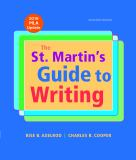The St. Martin's Guide to Writing with 2016 MLA Update 11th Edition
