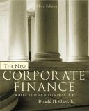 The New Corporate Finance 9780072339734