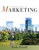 Foundations of Marketing 6th Edition