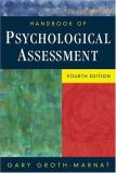 Handbook of Psychological Assessment 4th Edition