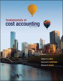 Fundamentals of Cost Accounting with Connect Plus 9780077729837