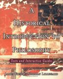A Historical Introduction to Philosophy