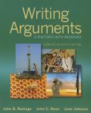 Writing Arguments 7th Edition