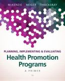 Planning, Implementing, and Evaluating Health Promotion Programs 7th Edition