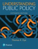 Understanding Public Policy 15th Edition