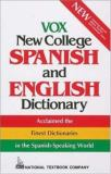 Vox New College Spanish and English Dictionary 9780844279992